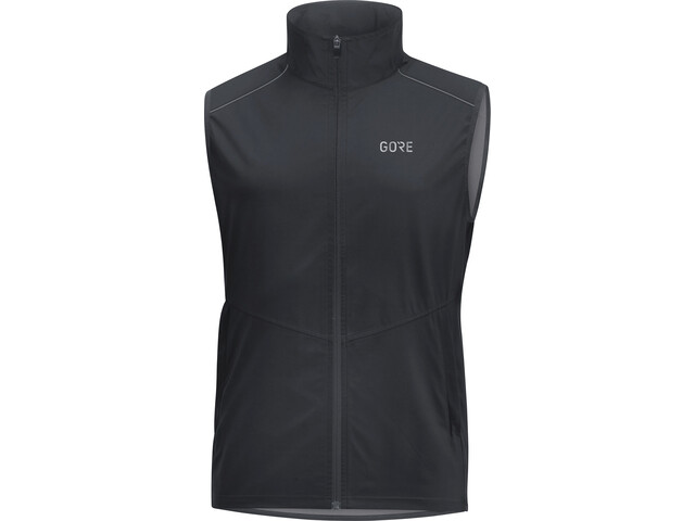 GORE WEAR R3 Windstopper Gilet Uomo, black